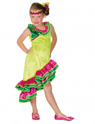 Costume balleria di rumba per bambina