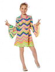 Costume disco multicolor per bambina