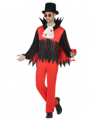 Costume da vampiro insanguinato uomo halloween
