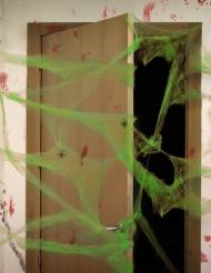 Decorazione per halloween ragnatela verde