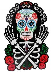 Decorazione per Halloween Scheletro colorato dia de los muertos