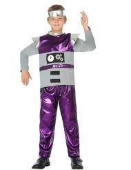 Costume Robot Viola Bambino