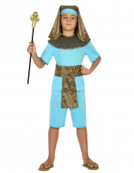 Costume faraone blu da bambino