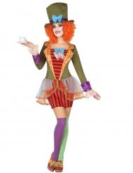 Costume Cappellaio a righe Donna