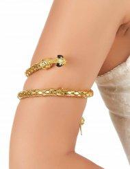 Braccialetto serpente dorato