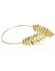 Corona di alloro dorata sottile per adulto