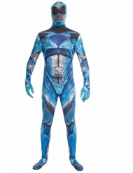 Costume Morphsuits™ Power Rangers™ Blu deluxe Adulto
