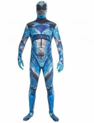 Costume Morphsuits™ Power Rangers™ Blu deluxe Adulto