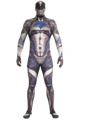 Costume Morphsuits™ Power Rangers™ Nero deluxe Adulto