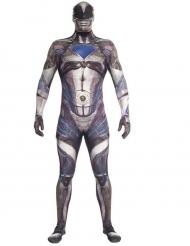 Costume Morphsuits™ Power Rangers™ Nero deluxe Adulto