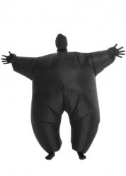 Costume nero luminosos gonfiabile Morphsuits per adulto