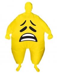 Costume gonfiabile viso triste adulto Morphsuits™