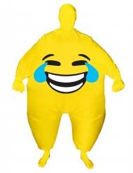 Costume gonfiabile viso sorridente adulto Morphsuits™