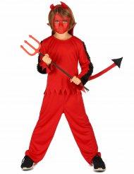 Costume da diavoletto rosso per bambino
