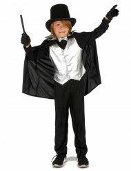 Costume mago argentato per bambino