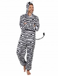 Costume da zebra per uomo