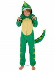 Costume tuta da dinosauro per bambino