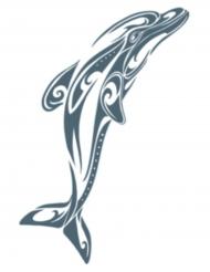 Tatuaggio delfino per adulti