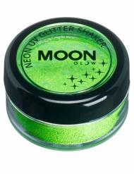 Polvere con brillantini verde marca Moonglow 5 g