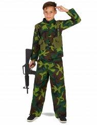 Costume da soldato militare per bambino