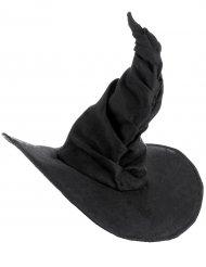 Cappello nero da strega per adulti