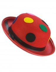 Cappello rosso clown per adulto