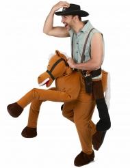 Costume uomo a dorso di cavallo per adulto