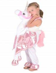 Costume bambina a cavallo di unicorno per bambino