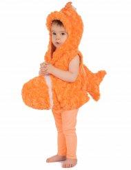 Costume senza maniche da pesce arancione per bambino