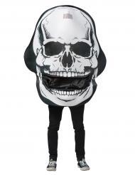Costume Teschio gigante con bocca mobile Halloween