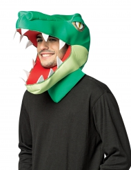 Maschera testa di coccodrillo