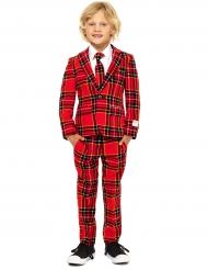 Costume Mr Tartan Scozzese rosso per bambino Opposuits™