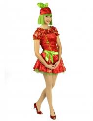 Costume fragola donna