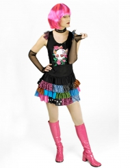 Costume punk love per donna