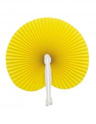 Ventaglio giallo pieghevole