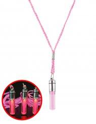 Collana luminosa rosa 5 cm