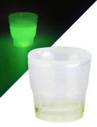 Bicchiere per shot verde luminoso 50 ml