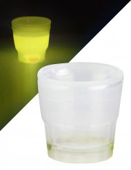 Bicchiere per shot giallo luminoso 50 ml