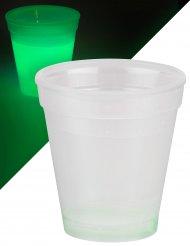 Bicchiere luminoso verde