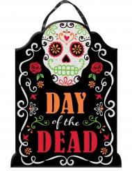Decorazione dia de los muertos con brillatini Halloween