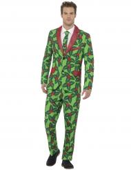 Costume Agrifoglio per adulto di Natale