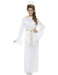 Costume da angelo bianco per adulto natale