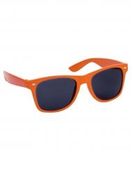 Occhiali da sole arancioni