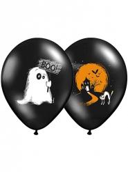 6 Palloncini Halloween Boo