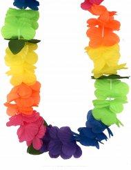 Collana hawaiana fiori multicolori