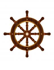 Timone navale decorativo 50 cm