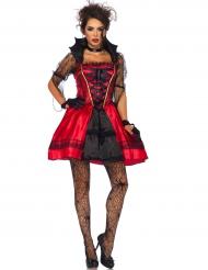Costume da vampiro sexy gotico per donna