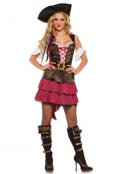Costume da pirata barocco sexy per donna