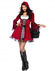 Costume da cappuccetto gotico per donna