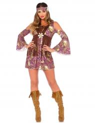 Costume Hippy corto per donna